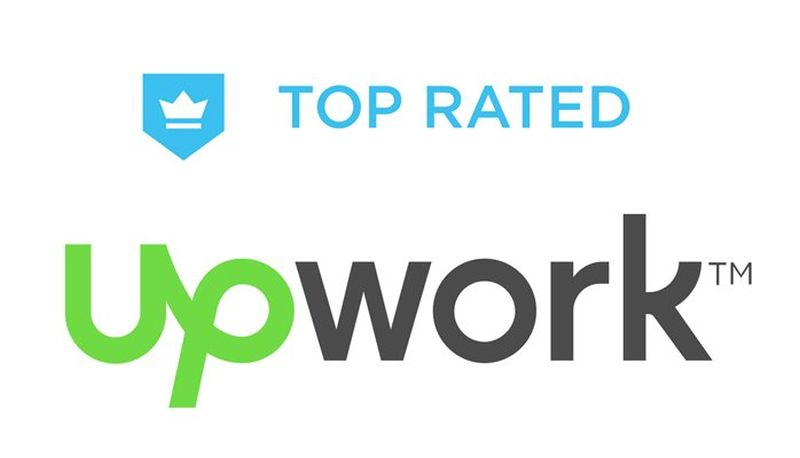 UpWork top rated badge