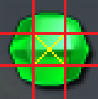 Green Bejeweled Orb