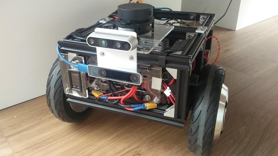 Our mobile robot development platform